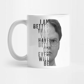 Office mugs Meeting Neginegolestan Dwight Schrute The Office Mugs Teepublic