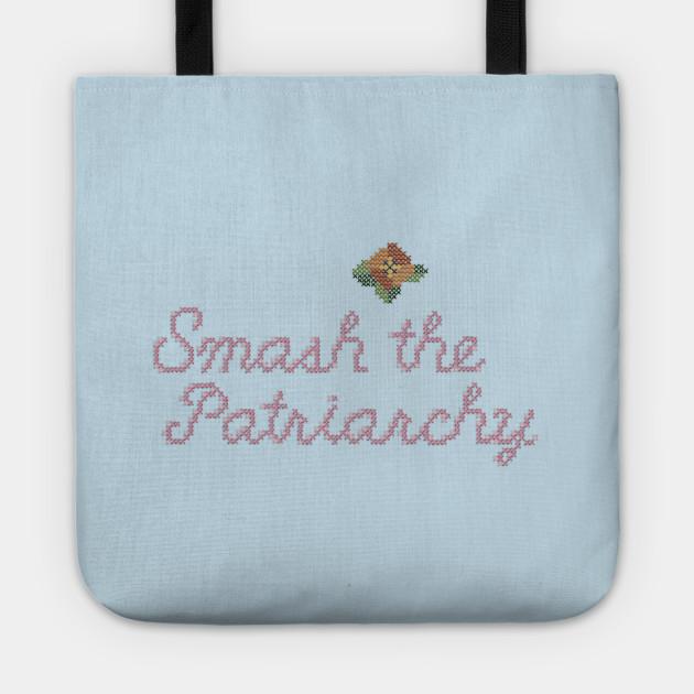 Smash the Patriarchy (Cross-stitch)