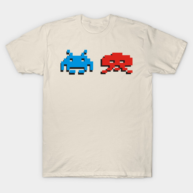 Space Invaders Space Invaders T Shirt Teepublic