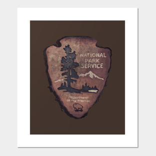 National Park Service Posters And Art Prints Teepublic