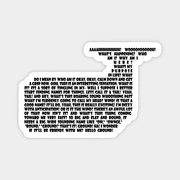 Hitchhikers whale quote