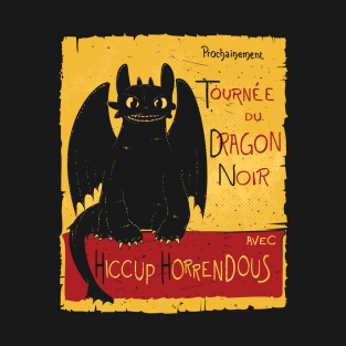 Dragon noir t-shirts