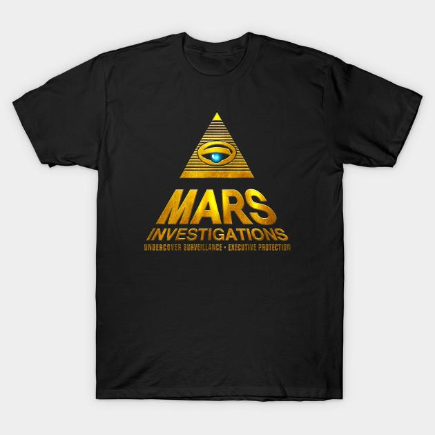 MARS INVESTIGATIONS T SHIRT VERONICA MARS