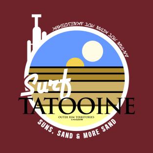 Surf Tatooine! (Regular Version.) t-shirts