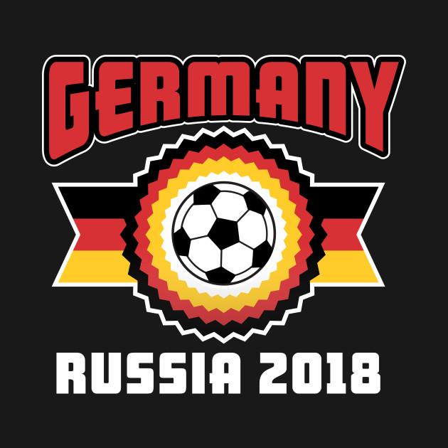 Germany Russia 2018 Soccer Shirt Germany Russia 2018 T Shirt