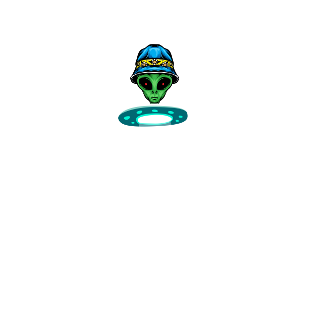 Funny Alien Ufo | Gift |