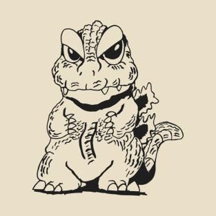 Chibi Godzilla t-shirts