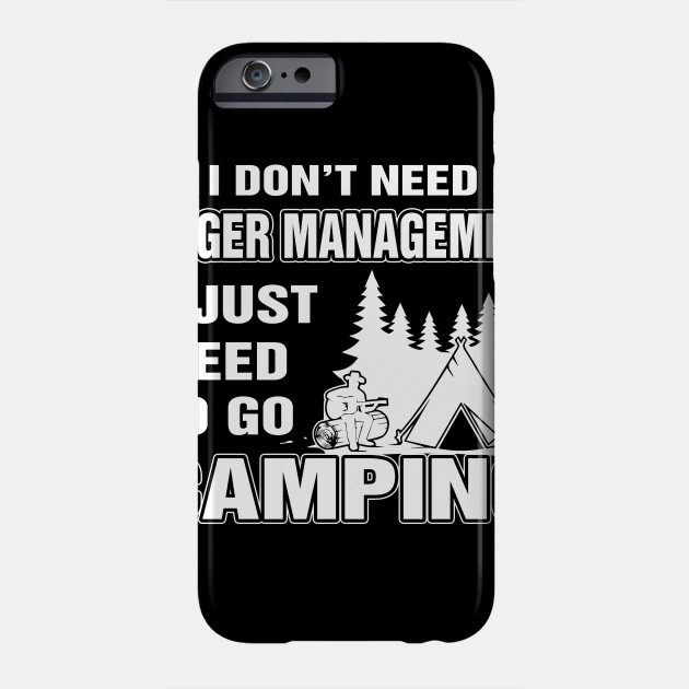 Camping Tee Gift Cool Gifts For Campers Phone Case