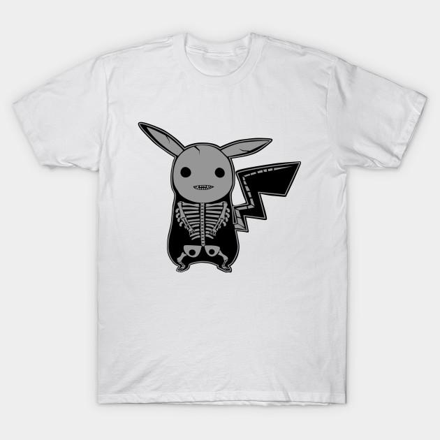 Pikachu Anatomy - Halloween - T-Shirt | TeePublic