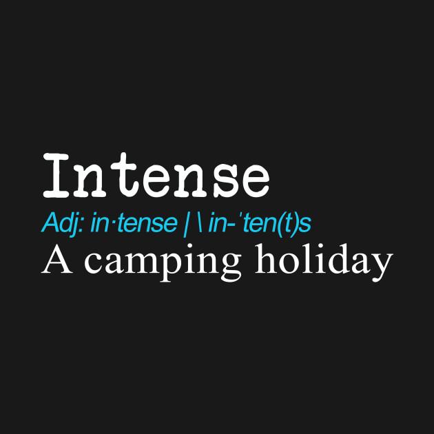 Funny Intense Definition Gift Design