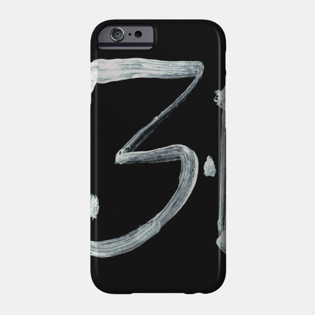 Alchemical Symbols One Dram Inverted Calligraphy Phone Case