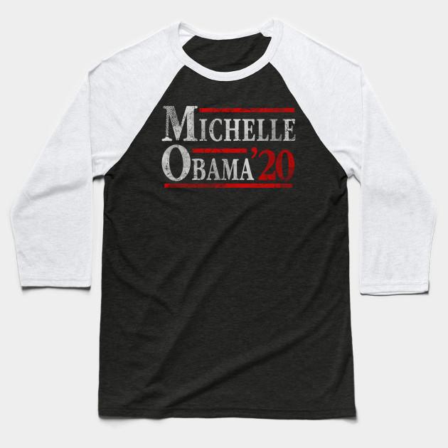 afddc43f Vote Michelle Obama 2020 - Michelle Obama - Baseball T-Shirt   TeePublic