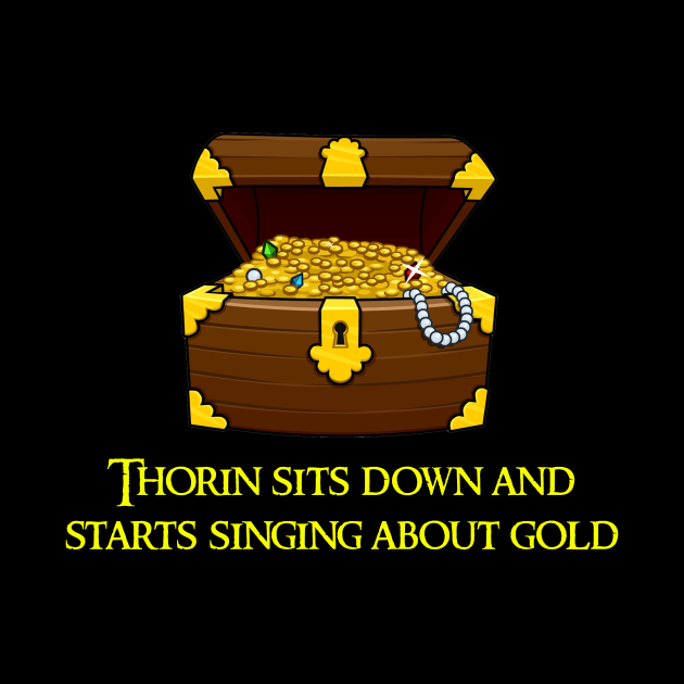 Thorin Sits Down And Starts Singing About Gold