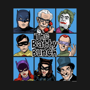 The Batty Bunch t-shirts
