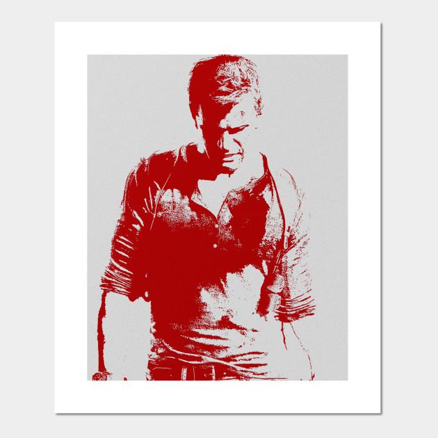 Uncharted 4 Nathan Drake Posters And Art Prints Teepublic