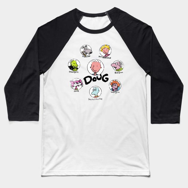 c1ced4f5 Mr. Funnie - Doug - Baseball T-Shirt   TeePublic