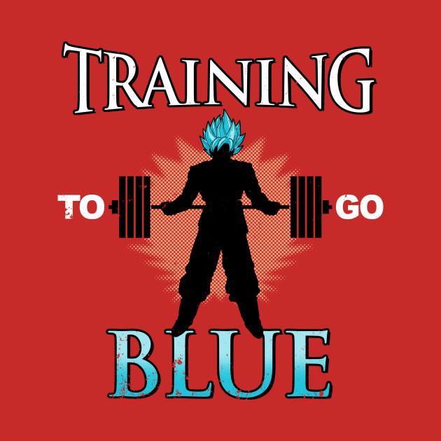 Training To Go Blue T-Shirt
