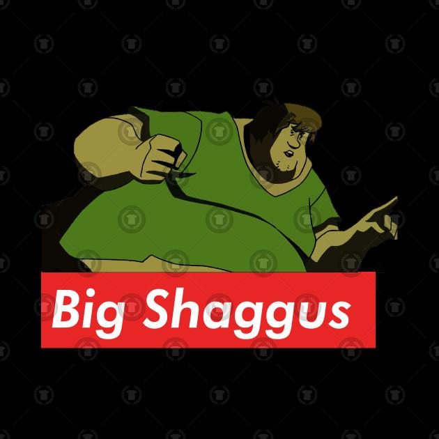 Big Shaggus Shaggy And Big Chungus V3 Shaggy Meme Tapestry