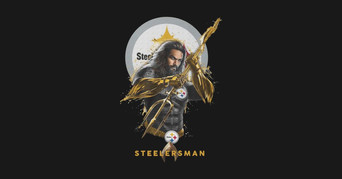 STEELERSMAN SHIRT FUNNY Pittsburgh Steelers - Aquaman - Steelersman ... 7e51da624