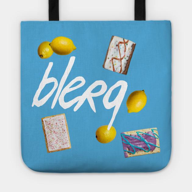 Liz Lemon's Catchphrase: BLERG!