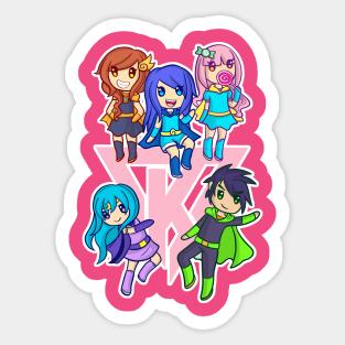 Its Funneh Stickers Teepublic