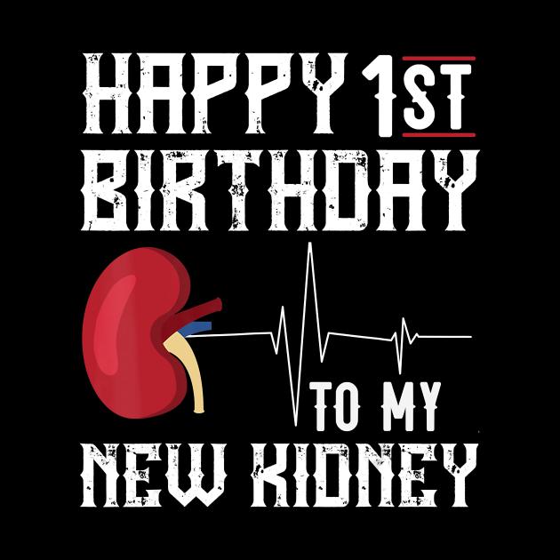 kidney transplant anniversary 1st birthday bday cotume