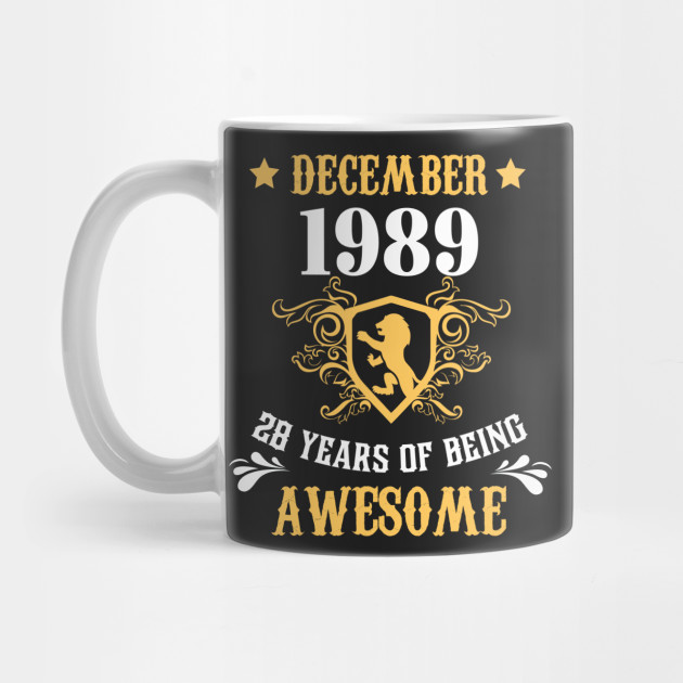 Birthday Gift For Adults Who Born In Dec 1989 Shirt Ideas