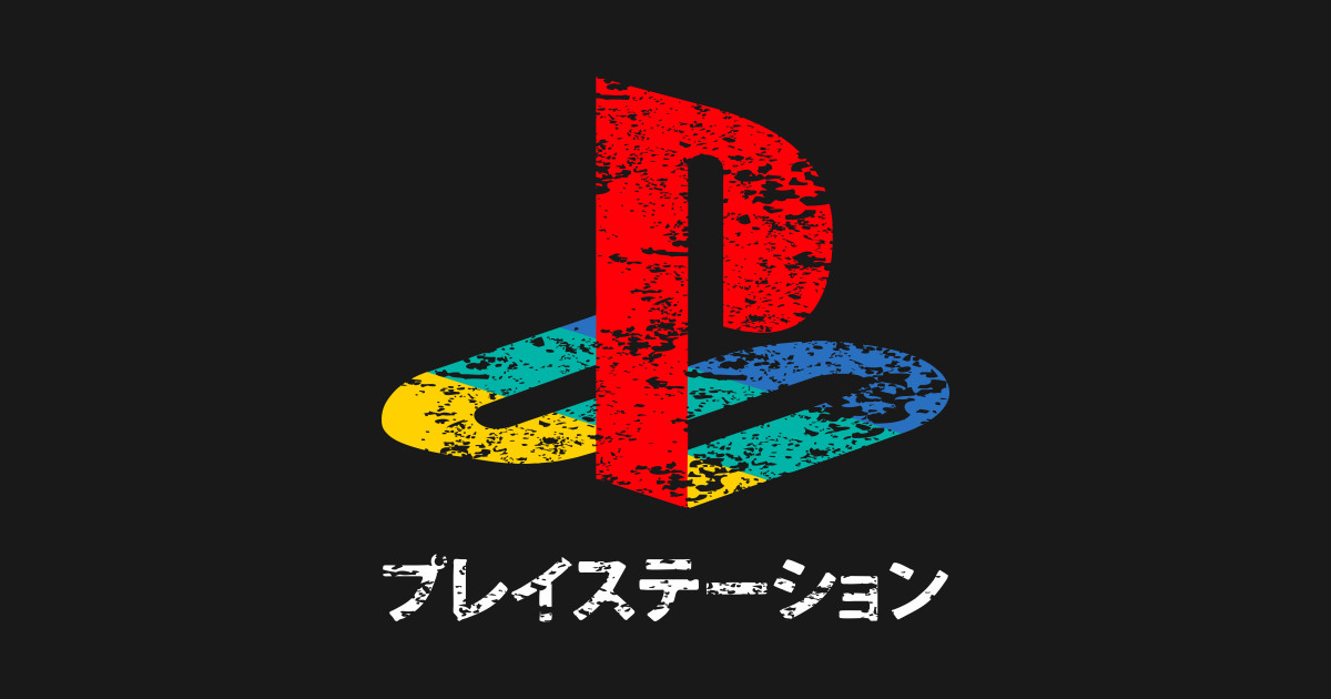Vintage ps logo playstation t shirt teepublic - High resolution playstation logo ...