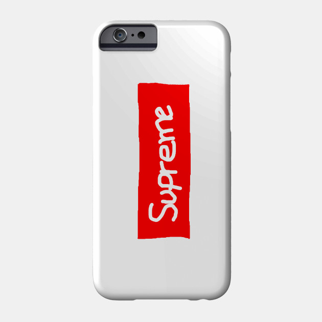 Supreme Original - Supreme - Phone Case | TeePublic AU