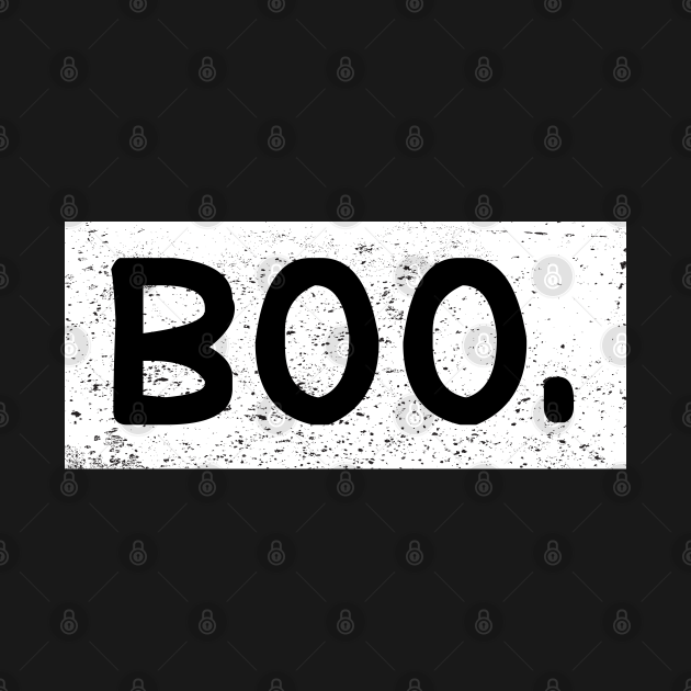 Halloween Vintage Boo Funny Gift