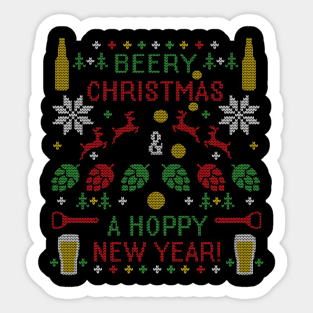 Beer Christmas Sweater.Beer Ugly Christmas Sweater Beer Lover Funny Beery Christmas Hoppy New Year Ipa Hops Lover