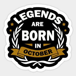 Birthday October Quotes Stickers | TeePublic