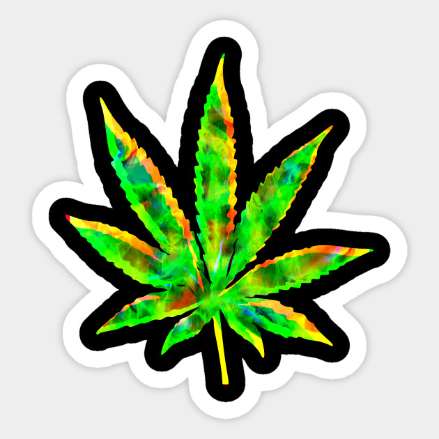 Stoner Mary Jane Weed Cannabis 420  Decal Sticker