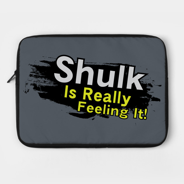 Shulk is Really Feeling It!