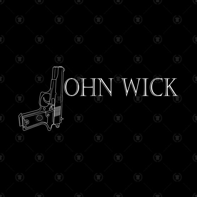 John Wick Gun