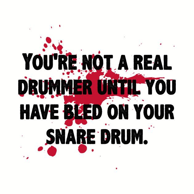 Drumming Is In My Blood