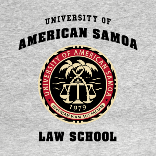 BCS - University of American Samoa Law School t-shirts
