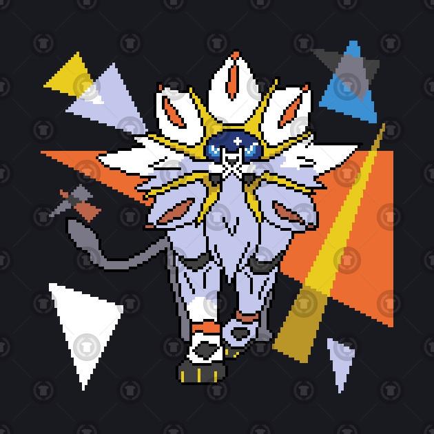 Pixel Triangle Solgaleo