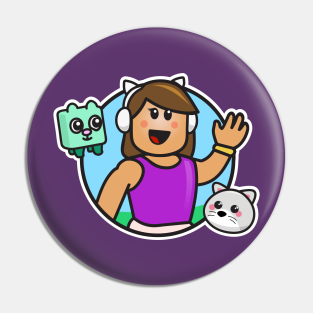 Roblox Meepcity Espaaol Roblox Generator Pin Roblox Girl Pins And Buttons Teepublic
