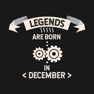 a2ce1216 Born In December T-Shirts | TeePublic