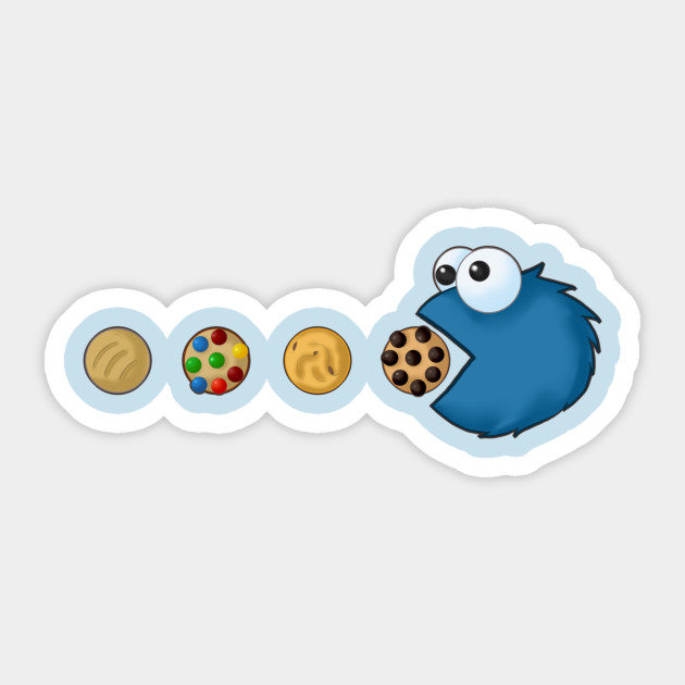 Cookie Monster Pacman By Linksketchit