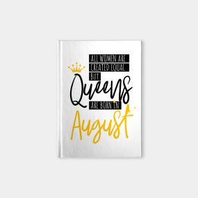 Birthday August Quotes Notebooks | TeePublic