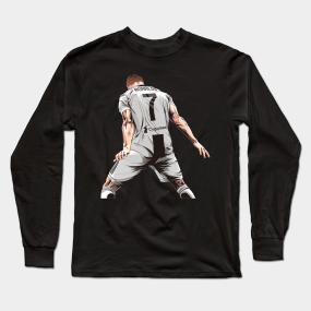 ef21d5e625398 Cristiano Ronaldo CR7 Juventus Tshirt Long Sleeve T-Shirt