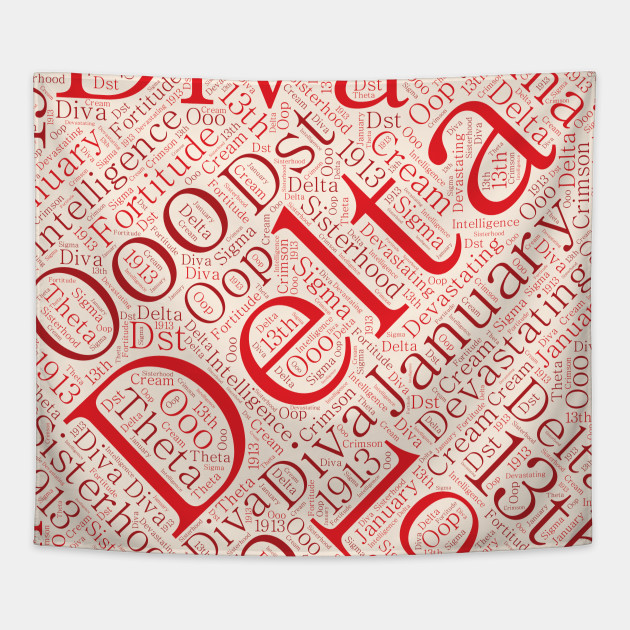 Delta Sigma Theta Gift Wrapping Paper - Gift Ideas