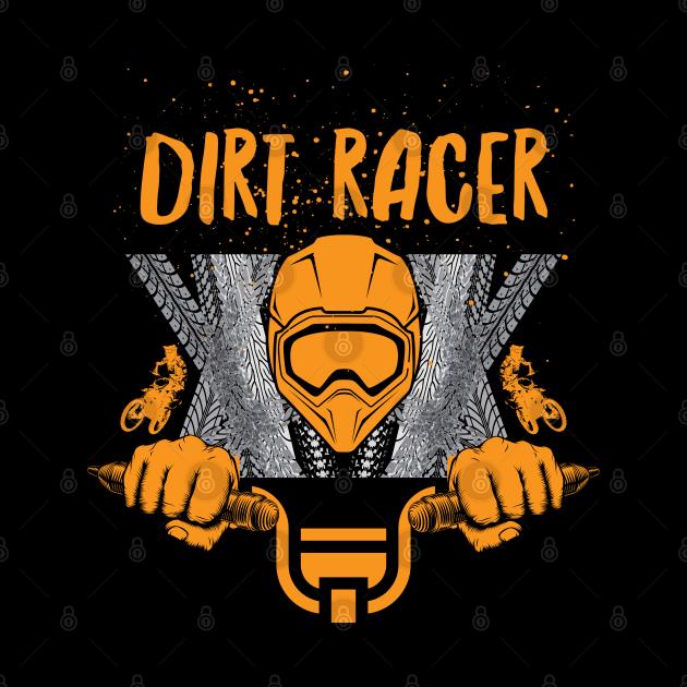 Dirt Racer Sports Graphic Design