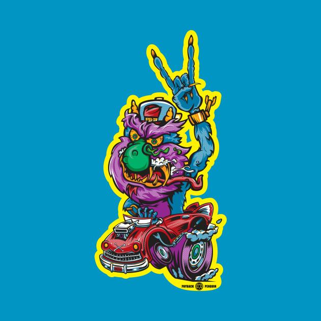 Rocking Monster (Variant 3)