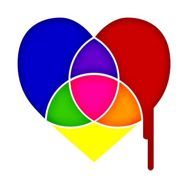 color chart heart