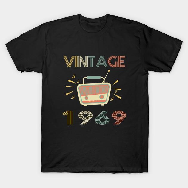 Vintage 1969 Retro 50th Birthday