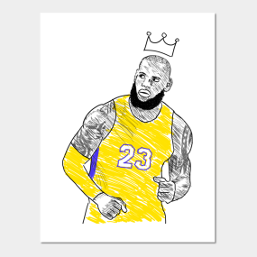 1d85305663b5 Lebron Posters and Art Prints
