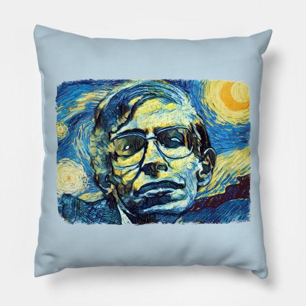 Stephen Hawking Van Gogh Style